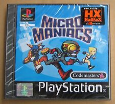 Videogame MICRO MANIACS Playstation 1 PS1 PSX PSONE Nuovo SIGILLATO NEW & SEALED