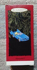 "Hallmark Keepsake Christmas Ornament  ""Batmobile"" Batman and Robin 1995 NEW"
