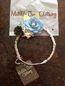 Matilda Jane Heritage Rose Flower Headband 23314A NEW
