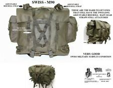 SWISS ARMY M90 WEATHER PROOF COMBAT BACKPACK / RUCKSACK- VERY GOOD USED COND -