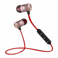Bluetooth4.0 Stereo Earphone Headset Wireless Magnetic In-Ear Earbud Headphone R