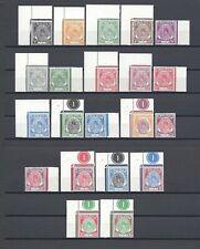 MALAYA/PERLIS 1951-55 SG 7/27 MNH Cat £180