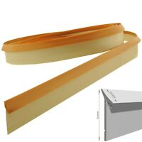4,2m  Dichtungsprofil Dichtleiste PVC  Streifen braun