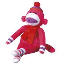 NEW ROSIE mini  interactive  cbk midwest  pink  plush   monkeez sock monkey