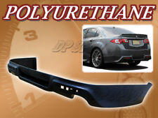 FOR 09-14 ACURA TSX JDM STYLE PU REAR BUMPER LIP SPOILER BODY KIT POLYURETHANE