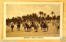 Bengasi Benghazi Libya Archaological Mission Italian Colonial Rule Postcard