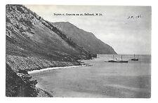 Olkhon island coast, lake Baikal, PPC, Unposted, dated 1906, Ships inc Paddle