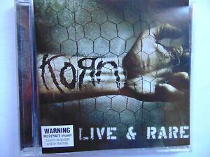 Korn - Live & Rare - CD - FREE POST