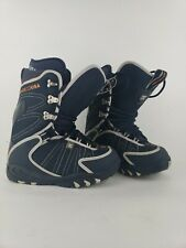 Womens Size 8 DC ShoeCO USA Snow Boarding boots Blue Snowboard Boot