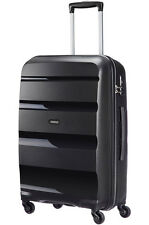 American Tourister Bon Air Spinner Medium 4 Wheel Suitcase 53l Black