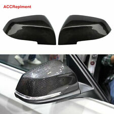 Carbon Fiber Rearview Mirrors Cover Cap Fit for BMW F10 F06 F12 F02 2014-2016