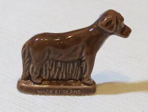 Series Dog Brown Retriever Wade England Rose Tea RARE miniature figure England