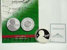 *** 5000 Forint Gedenkmünze UNGARN 2006 Bela Bartok PP mit Zertifikat Hungary **