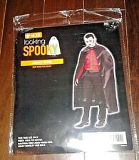looking spooky adult vampire cape adjustable one size fits most NEW