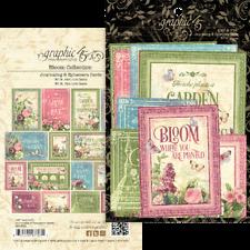 Graphic 45 - Bloom - Journaling and Ephemera Cards