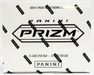 2020/21 PANINI PRIZM PREMIER LEAGUE SOCCER VALUE FAT PACK BOX (12 CT.) (RED WHIT