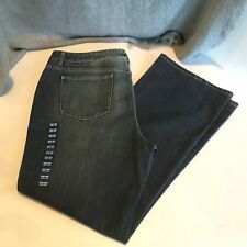 NEW Talbots Womens Size 20 Bootcut Jeans Stonewash Blue Stretch