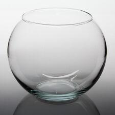 LARGE GLASS VASE TERRARIUM PLANT FISH BOWL FLOWER CENTERPIECE 6 QT QUART 1.5 GAL