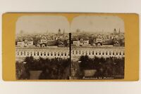 Russie Panorama Da Mosca c1865 Foto Stereo Vintage Albumina