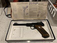 "Vintage  Daisy Pellet BB Gun CO2  200 Gas Air Pistol "" Daisy Co2 200"" W/OG Box"
