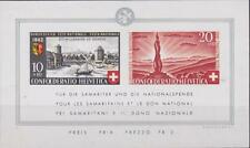 Switzerland 1942 Souvenir Sheet # B119 National Fête Day MNH