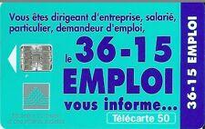Télécarte carte téléphonique 36 15 emploi