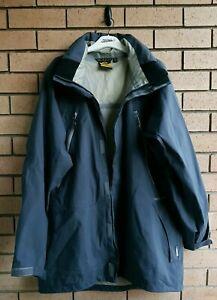 Mountain Designs Melaleuca Mens Waterproof Hoodie Rain Jacket Size 2XL