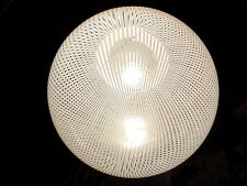 """Venini ceiling lamp crystal """"tessuto"""" by Massimo Vignelli design years '70"""