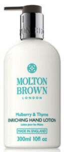 Molton Brown Mulberry & Thyme Enriching Hand Lorion 300ml Brand New