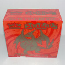 Evolutions CHARIZARD Elite Trainer Box Pokemon NEW SEALED with 8 Booster Packs