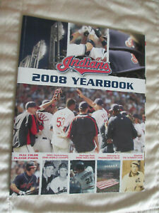 Cleveland Indians  2008 Official Yearbook Baseball MLB