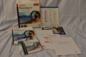 Adobe Photoshop 7 Upgrade (2002) for Mac CD-ROM Complete in Box