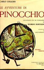BARTOLINI - COLLODI Carlo, Le avventure di Pinocchio