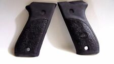 For Bersa 85,380 CAL Pistol grips (NEW) Flat Black, VERY HARD TO FIND GRIPS