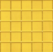 25pcs VTC75 Yellow Bisazza Vetricolor Italian Glass Mosaic Tiles 2cm x 2cm
