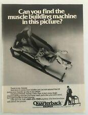 """1983 Solo-flex NO PAIN NO GAIN-Soloflex Original Print Ad 8.5 x 11/"""""""