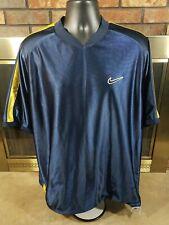 Vintage 90s Nike Reversible Basketball Jersey Warmup Shirt Swoosh Mens Sz Large
