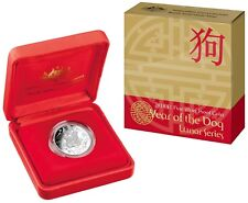 2018 Lunar Year of the Dog  $1 Silver Proof Coin, Royal Australia Mint