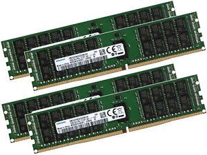 4x 16GB 64GB RAM RDIMM ECC REG DDR4 2133 MHz PC4-2133P-R komp. Lenovo 4X70G78062