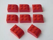 Lego 6215# 8x Bogenstein 2x3  Rot 10020