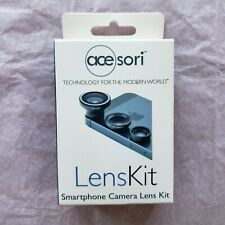 New listing Acesori Magnetic Lens Kit Cell Phone Smartphone Macro and Fish Eye Wide Angle
