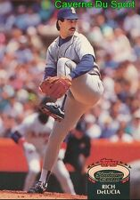 511  RICH DELUCIA  SEATTLE MARINERS TOPPS BASEBALL CARD STADIUM CLUB 1992