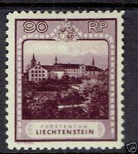 LIECHTENSTEIN #104 Schellenberg Monastery F-VF mint hr og 1929