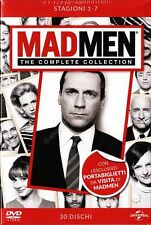 MAD MEN LA SERIE COMPLETA - COFANETTO 30 DVD NUOVO!
