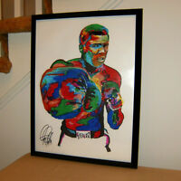 Muhammad Ali Heavyweight Champion Sports Boxing Poster Print Wall Art 18x24