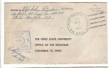 Mar/1/45 APO 129: France, WWII cover: 47th Replacement Battalion U. S. Army