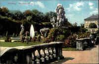 Salzburg Österreich ~1910/20 Denkmal Standbild Statue Park Mirabellgarten Garten
