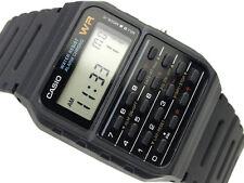 Casio Classic Calculator Black Rubber Men's Kids Watch Alarm CA53W CA-53W-1Z NEW