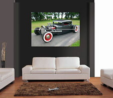 OLDSMOBILE CUSTOM CAR Giant Wall Art Print Picture Poster