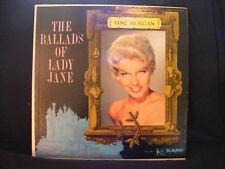Jane Morgan The Ballads Of Lady Jane LP KL-1191 1960